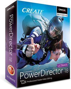 Latest CyberLink PowerDirector Ultimate 19.1.2407.0 Crack Free Download