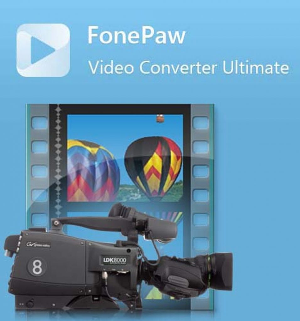 FonePaw Video Converter Ultimate 6.3.0+Crack Download Free Latest
