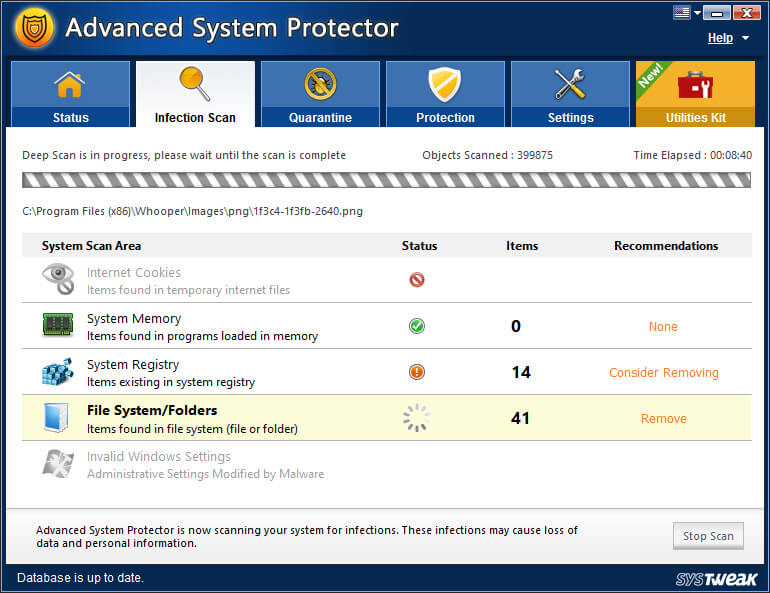 Advanced System Protector License Key
