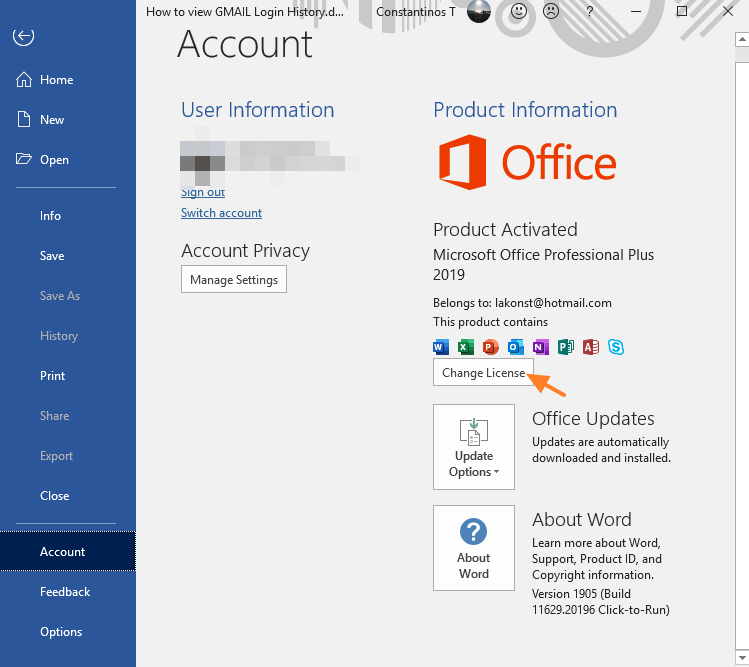 Microsoft Office 2019 Professional Plus Product Key + Crack Free