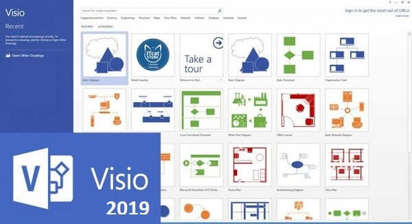 Microsoft Visio Professional 2019 Product Key With Crack
