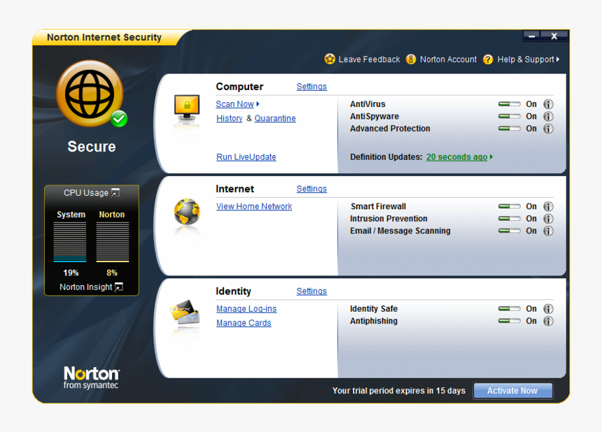 Norton Internet Security 4.7.0.4460 Crack & License Key Download 2020