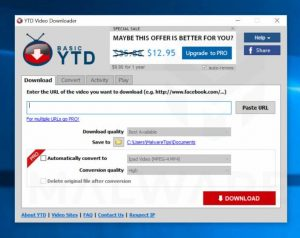 YTD Video Downloader Pro 7.3.23 With Crack Download [Latest] 2021