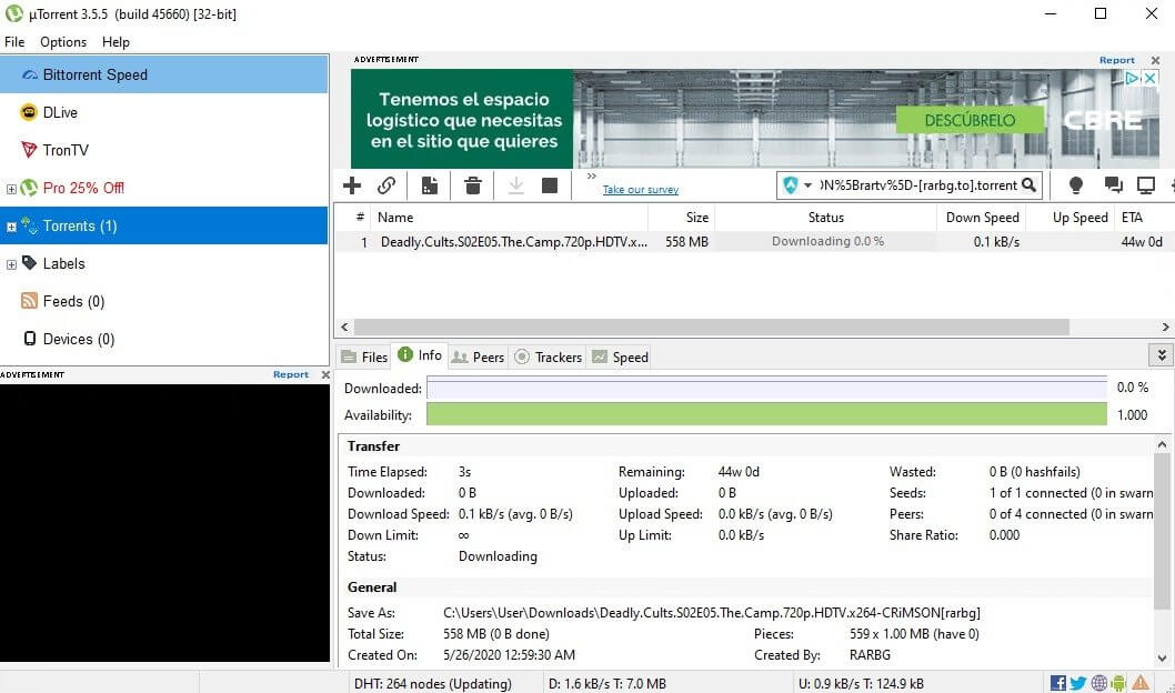 uTorrent Pro Crack 3.5.5 Build 45852 With Patch Download [Latest]2021