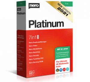 Nero 2021 v 23.5.1010 Retail Platinum Crack + Keygen Free Download