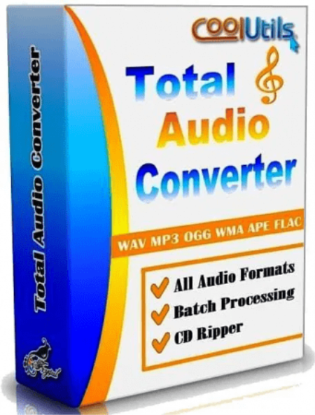 CoolUtils Total Audio Converter 5.3.0.237 + Crack With Patch Latest