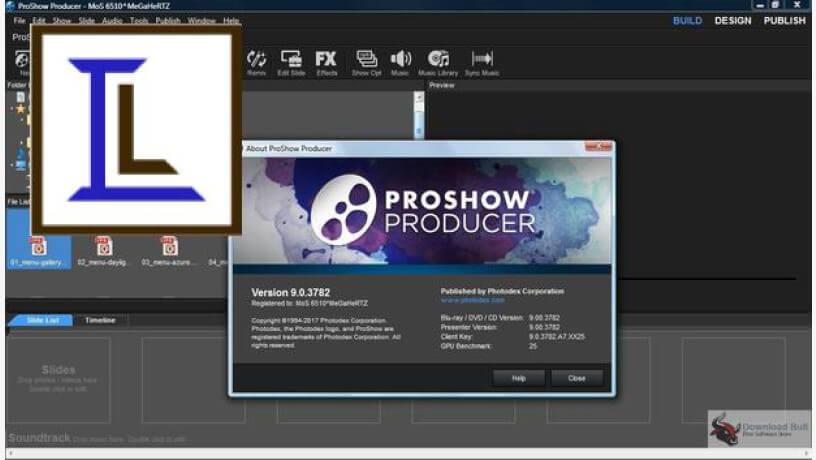 ProShow Producer Crack 9.0.3797+ Registration Key Free Full Download 2021