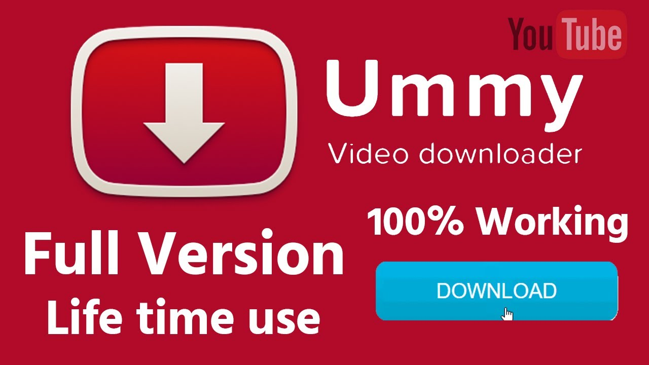 Ummy Video Downloader 1.10.10.7 Crack With License Code Full Version