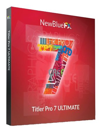 NewBlueFX Titler Pro 7 Ultimate7.3.201016+Crack full Latest Free download