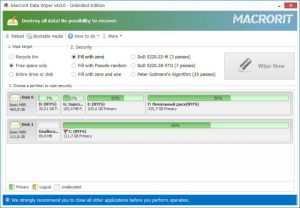 Macrorit Data Wiper 4.6.3 Unlimited Edition + Crack Latest 2021 Free Download