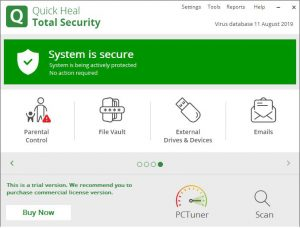 Quick Heal Total Security 2021 + Crack [Latest Version] Free Download