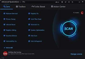 Advanced SystemCare 15.0.0.88 PRO Serial Key 2021 [Cracked]